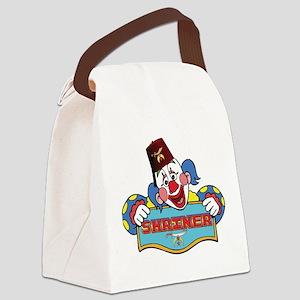 Proud Shrine Clown Canvas Lunch Bag