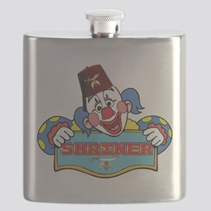 Proud Shrine Clown Flask
