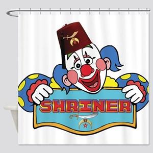 Proud Shrine Clown Shower Curtain