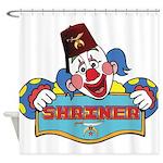 Proud Shrine Clown Shower Curtain