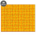 Orange Gingham Puzzle