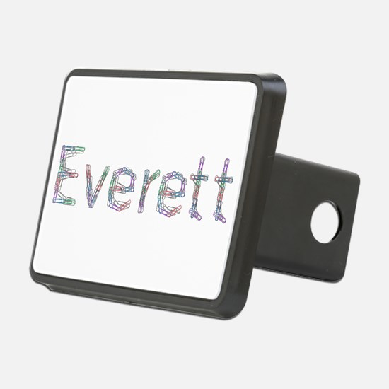Everett Paper Clips Hitch Cover