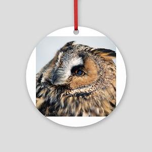 Eagle Owl Ornament (Round)