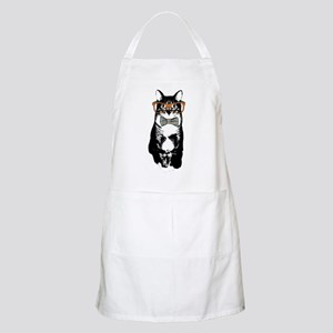 Hipster Cat Apron