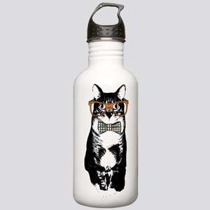 Hipster Cat Stainless Water Bottle 1.0L