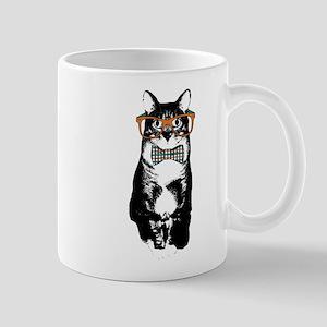 Hipster Cat Mug