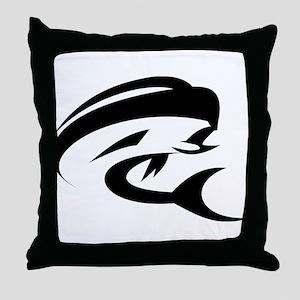 Mahi Mahi Dorado Fish Throw Pillow