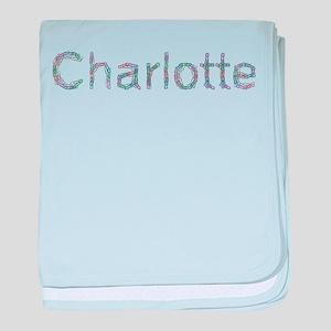 Charlotte Paper Clips baby blanket