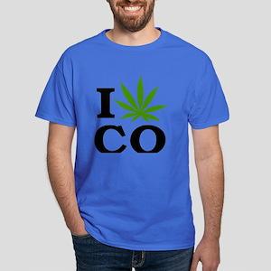 I Cannabis Colorado Dark T-Shirt