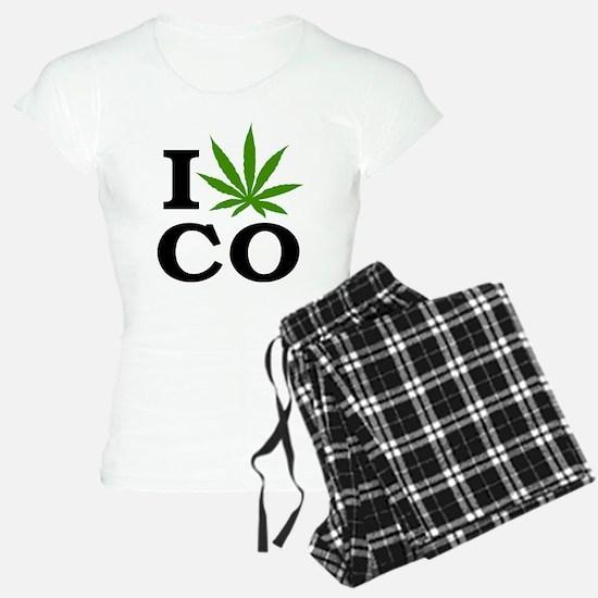 I Cannabis Colorado Pajamas