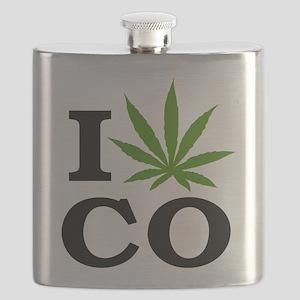I Cannabis Colorado Flask