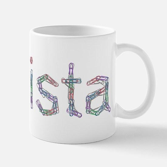 Christa Paper Clips Mug