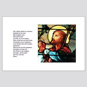 The Lords Prayer Large Poster