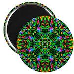 Green Fractal Mandala 2.25