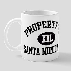 Property of SANTA MONICA Mug