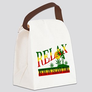 relax weed Canvas Lunch Bag