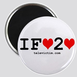 """i fart 2 love"" Magnet"