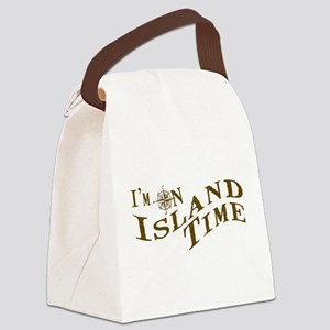 Island Time Canvas Lunch Bag