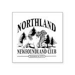Northland Newfoundland Club Logo Sticker