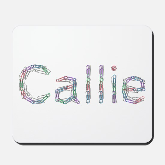 Callie Paper Clips Mousepad