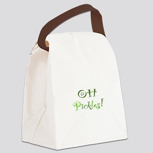 Oh Pickles Canvas Lunch Bag