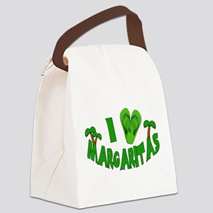 heart marg Canvas Lunch Bag