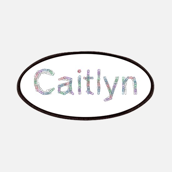 Caitlyn Paper Clips Patch