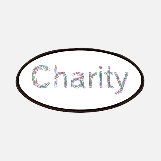 Charity Paper Clips Patch