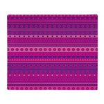 Purple and Pink Stripy Pattern Throw Blanket