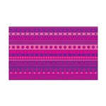 Purple and Pink Stripy Pattern 35x21 Wall Decal