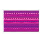 Purple and Pink Stripy Pattern 20x12 Wall Decal