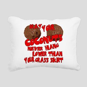 may coco Rectangular Canvas Pillow