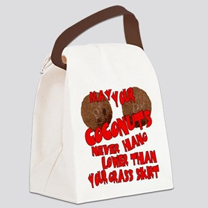 may coco Canvas Lunch Bag