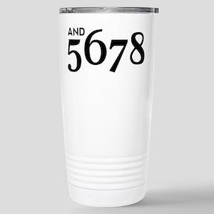 And 5678 16 oz Stainless Steel Travel Mug