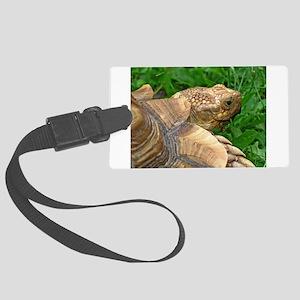 .tortoise. Large Luggage Tag