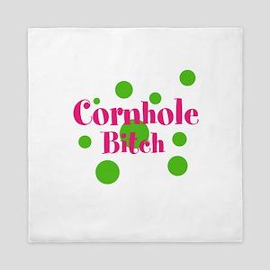 Cornhole Bitch Queen Duvet
