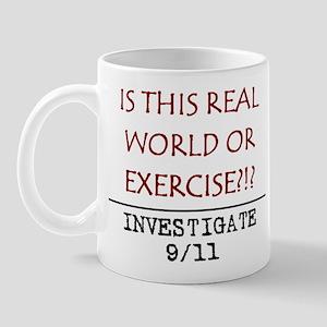 9/11: REAL WORLD? Mug