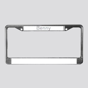Benny Paper Clips License Plate Frame