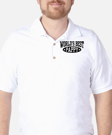 World's Best Pappy Golf Shirt
