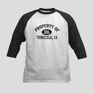 Property of TEMECULA Kids Baseball Jersey
