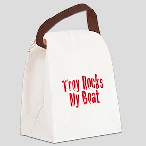 Troy Rocks My Boat Canvas Lunch Bag