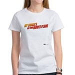 My Snake and Your Mom's Plane Women's T-Shirt