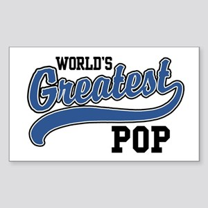 World's Greatest Pop Sticker (Rectangle)