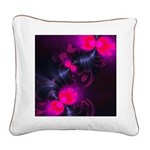 Flower Fairy Square Canvas Pillow