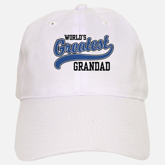 World's Greatest Grandad Baseball Baseball Cap