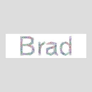 Brad Paper Clips 36x11 Wall Peel