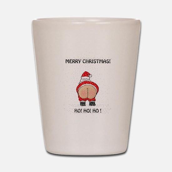 Merry Christmas! Shot Glass