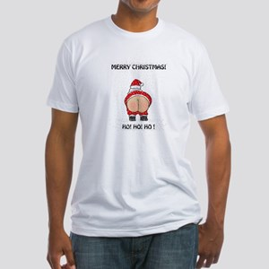 Merry Christmas! Fitted T-Shirt
