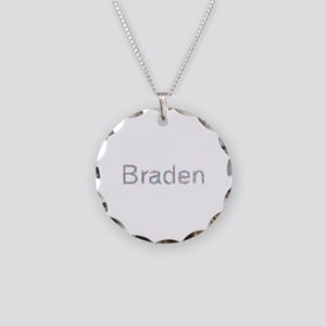 Braden Paper Clips Necklace Circle Charm
