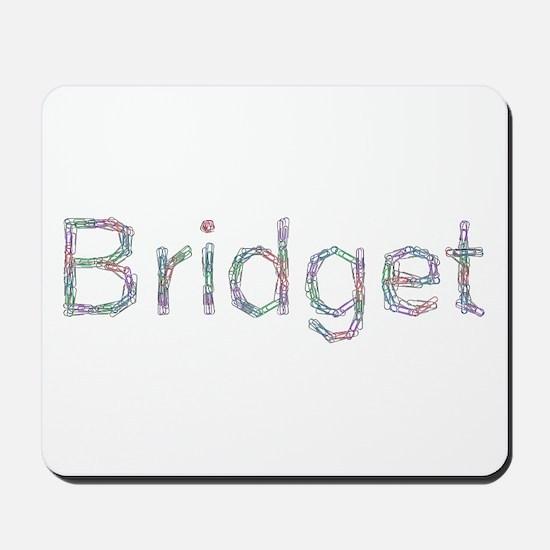 Bridget Paper Clips Mousepad